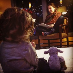 Story time with Georgia